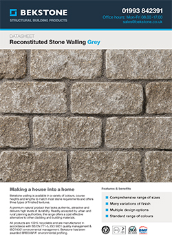 Grey Burford Walling Technical Data Sheet
