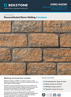 Ironstone Burford Walling Technical Data Sheet