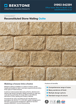Oolite Cream Burford Walling Technical Data Sheet