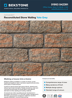Yate Grey Burford Walling Technical Data Sheet