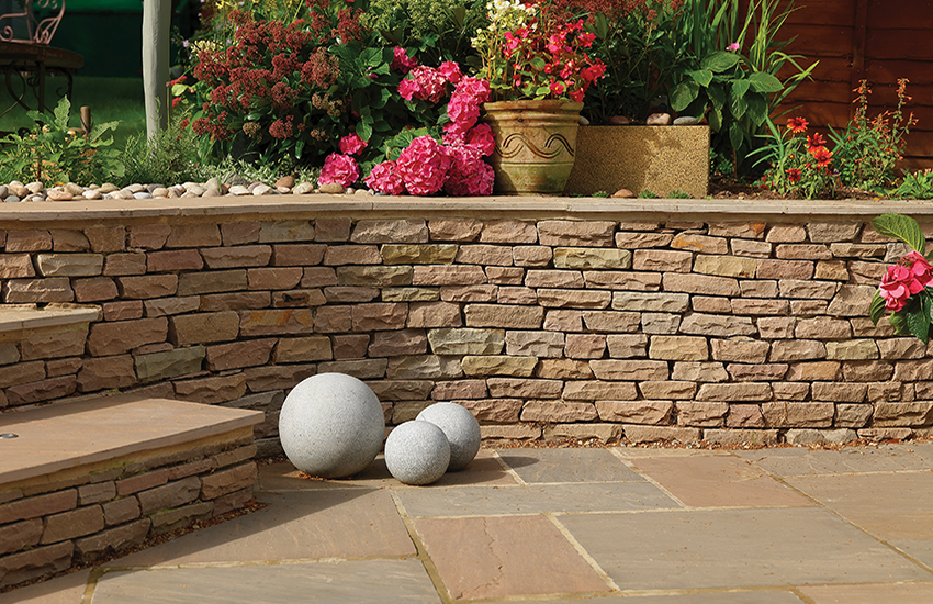 Image for Buff Brown Dry Stone Walling